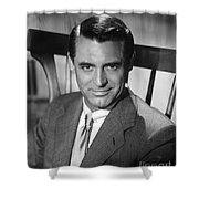 Cary Grant (1904-1986) Shower Curtain by Granger
