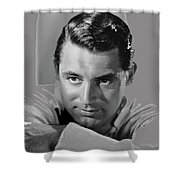 Cary Grant Glamor Portrait C. 1937-2015 Shower Curtain
