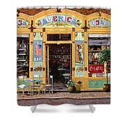 Casa America Shower Curtain