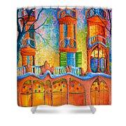Barcelona Casa Batilo Shower Curtain