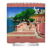 Casa Blanca - Puerto Rico Shower Curtain
