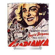 Casablanca B Shower Curtain