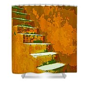 Casablanca Stairway Shower Curtain