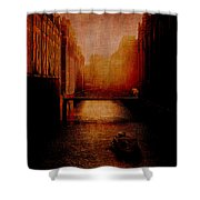 Casanova's Waterway Shower Curtain
