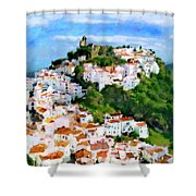 Casares From Laura's View Shower Curtain