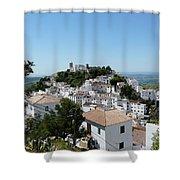 Casares Spain Shower Curtain