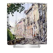 Casas Antiguas Del Albaicin Granada Shower Curtain