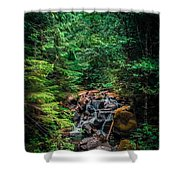 Cascade Creek Shower Curtain