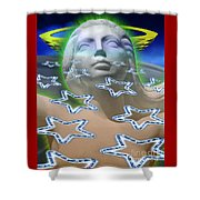 Cascade Goddess Shower Curtain