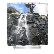 Cascade In The Sierras Shower Curtain