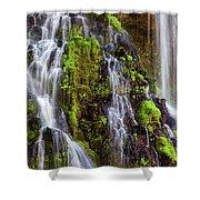 Cascades Of Burney Falls Shower Curtain