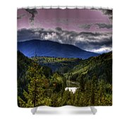 Cascades View Shower Curtain