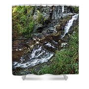 Cascadilla Falls Creek Gorge Trail Giant's Staircase Shower Curtain