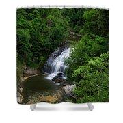 Cascadilla Waterfalls Cornell University Ithaca New York 02 Shower Curtain