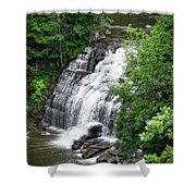 Cascadilla Waterfalls Cornell University Ithaca New York 03 Shower Curtain