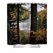Cascading Colors Shower Curtain