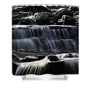Cascading Falls Shower Curtain