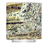 10196 Cascading Water 01b Shower Curtain