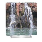 Cascading Waterfall Shower Curtain