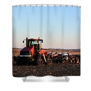 Case Ih Power Shower Curtain