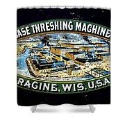 Case Threshing Machine Co Shower Curtain