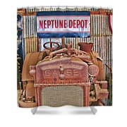 Case Tractor 1918-1929 Shower Curtain