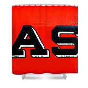 Case Tractor Nameplate Shower Curtain