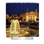 Casino De Monte Carlo-circa 2005 Shower Curtain