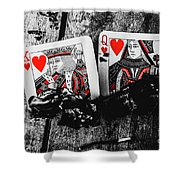 Casino Hot Streak  Shower Curtain