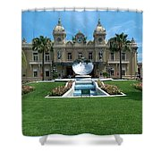 Casino Of Monaco Shower Curtain