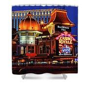 Casino Royale Shower Curtain