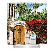 Casitas Laquita Palm Springs Shower Curtain