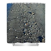 Caspersen Beach- Vertical Shower Curtain
