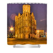 Cass Castle Detroit Mi Shower Curtain