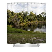 Cassadaga Spiritualist Camp In Florida Shower Curtain