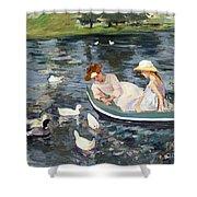 Cassatt: Summertime, 1894 Shower Curtain