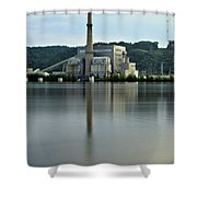 Cassville Power Shower Curtain
