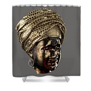 Cast In Character 2013 - Side View Transparent With Red Spotlight Shower Curtain