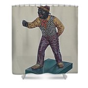 Cast Iron Hitching Post Shower Curtain