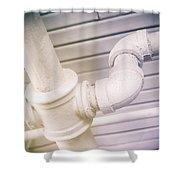 Cast Iron Plumbing Shower Curtain