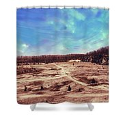 Castalia Quarry Reserve Dreamscape Shower Curtain