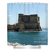 Castel Dell'ovo, Naples, Italy Shower Curtain