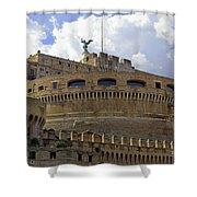 Castel Sant'angelo Shower Curtain