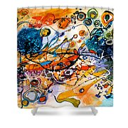 Castele De Nisip Shower Curtain