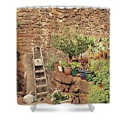 Castelo Rodrigo Garden Shower Curtain