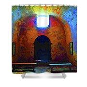 Castillo De San Marcos Chapel Shower Curtain