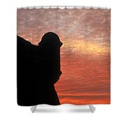 Castillo De San Marcos Shower Curtain
