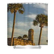 Castillo De San Marcos Dawn II Shower Curtain