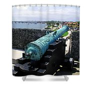 Castillo De San Marcos In St Augustine Florida Shower Curtain