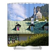 Castle 3 Shower Curtain